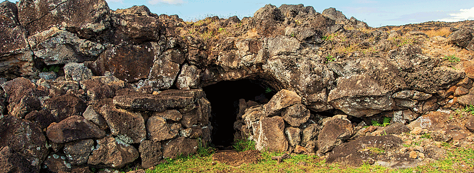 Easter Island Caves
